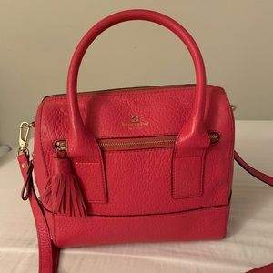 Kate Spade Pink genuine leather satchel